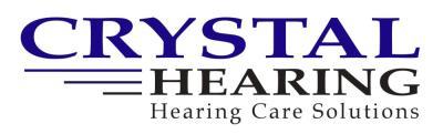 Crystal Hearing company logo