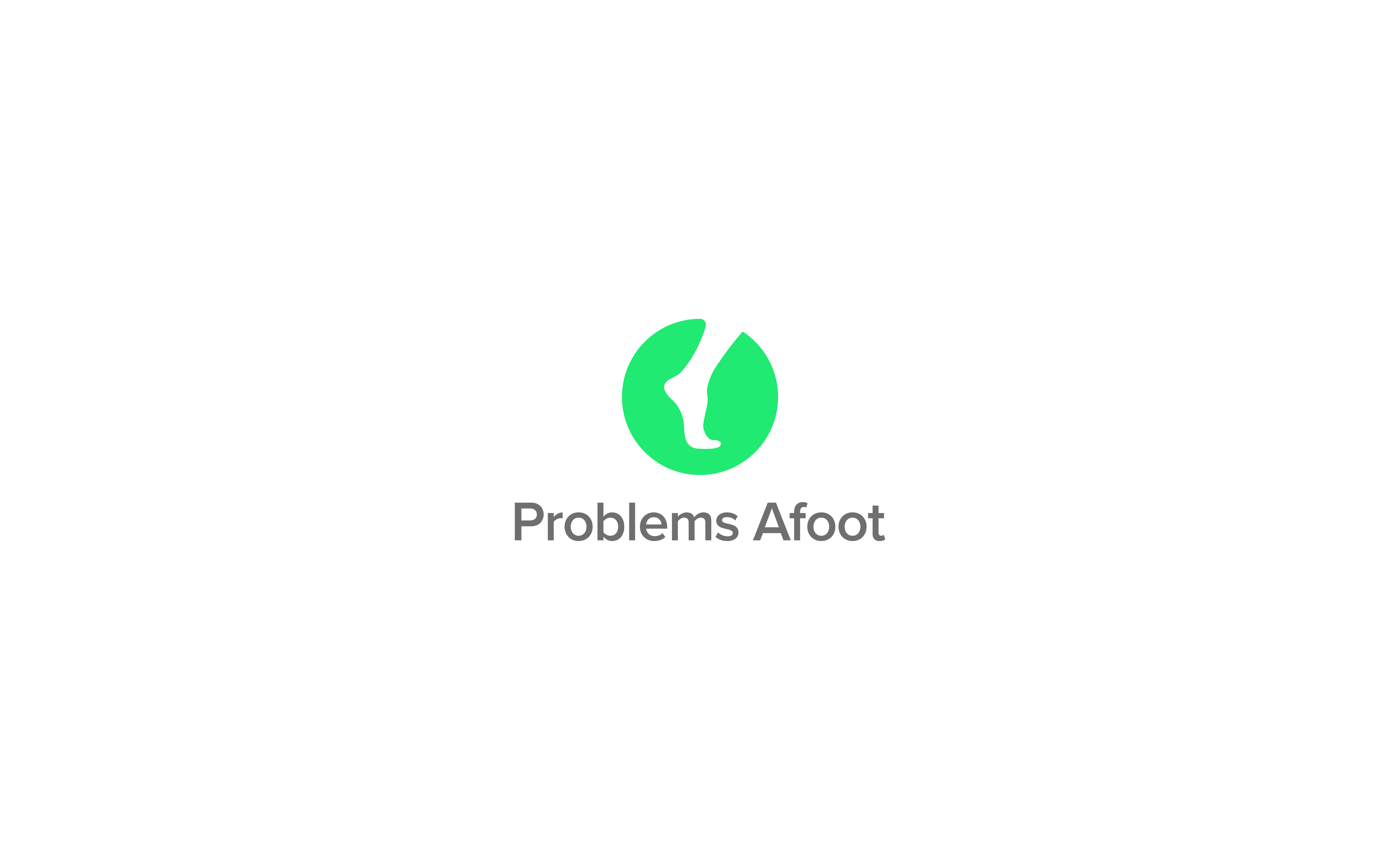 Problems Afoot company logo