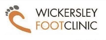 Wickersley foot clinic company logo